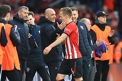 Southampton's James Ward-Prowse (centre) after the final whistle