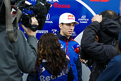 October 18, 2018 - Austin, United States - GASLY Pierre (fra), Scuderia Toro Rosso Honda STR13, portrait during the 2018 Formula One World Championship, United States of America Grand Prix from october 18 to 21 in Austin, Texas, USA -  /   Motorsports: FIA Formula One World Championship; 2018; Grand Prix; United States, FORMULA 1 PIRELLI 2018 UNITED S GRAND PRIX , Circuit of The Americas  (Credit Image: © Hoch Zwei via ZUMA Wire)
