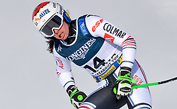 15.02.2021, Cortina, ITA, FIS Weltmeisterschaften Ski Alpin, Alpine Kombination, Damen, Super G, im Bild Tifany Roux (FRA) // Tifany Roux of France reacts after the Super G competition for the women's alpine combined of FIS Alpine Ski World Championships 2021 in Cortina, Italy on 2021/02/15. EXPA Pictures © 2021, PhotoCredit: EXPA/ Erich Spiess