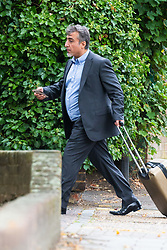 ***EXCLUSIVE - CHECK WITH NATIONAL BEFORE SENDING*** <br /> Former Afghan MP Said Naderi, 47, leaves Isleworth Crown Court in West London where he plead guilty to being drunk and abusive towards cabin crew on an Emirates flight on May 29th from Kabul to London Heathrow. London, September 06 2019.