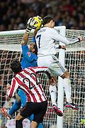 extraordinary leap of Cristiano Ronaldo, who is taller goalkeeper