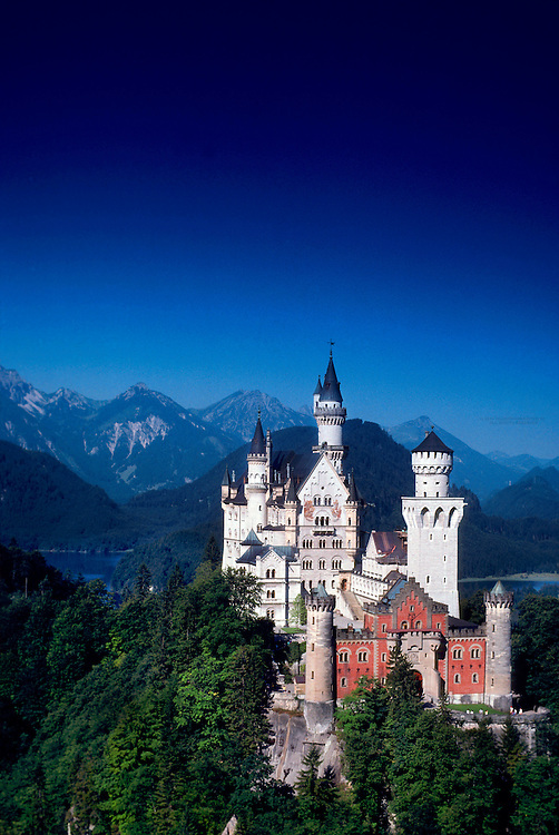 Neuschwanstein Castle, near Fussen, Bavaria, Germany