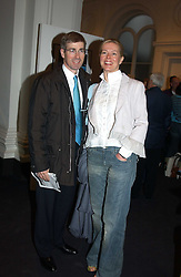 MR TIM & LADY HELEN TAYLOR at the opening of the second annual Photo-London exhibition at The Royal Academy, Burlington Gardens, London on 18th May 2005.<br /><br />NON EXCLUSIVE - WORLD RIGHTS
