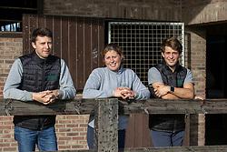 De Brabander Valentijn, Karline, Christophe<br /> Stal de Muze - Sint Niklaas<br /> © Hippo Foto - Dirk Caremans<br /> 23/11/2020
