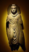 Gandhara Buddha, (Pakistan) Ashmolean Museum Oxford. 200AD