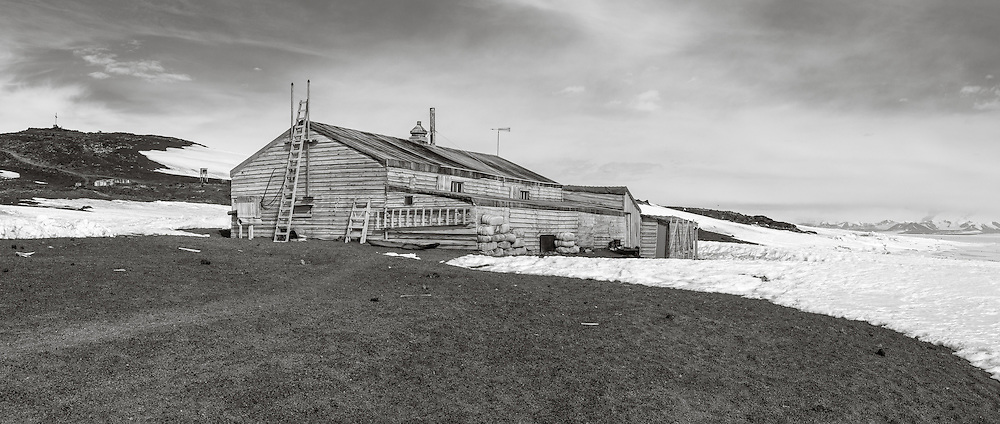 Terra Nova Hut during my third visit out to Cape Evans. A cake walk compared to the first vist, with a nice calm day and temps in the 20's.