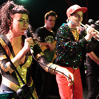 Sam and the Womp performing live at Sound Control, Manchester, Greater Manchester, 2012-11-22