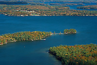 Flight over Lake Winnipesaukee with Lakes Biplane. © 2103 Karen Bobotas Photographer