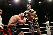 Boxen: Fritz Sdunek Memorial 2019, Zinnowitz, 21.09.2019<br /> Supermittelgewicht: Siarhei Khamitski (BLR) - William Scull (CUB)<br /> © Torsten Helmke