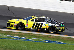 July 21, 2018 - Loudon, NH, U.S. - LOUDON, NH - JULY 21: Landon Cassill, driver of the #00 StarCom Fiber Chevy during practice for the Monster Energy Cup Series Foxwoods Resort Casino 301 race on July, 21, 2018, at New Hampshire Motor Speedway in Loudon, NH. (Photo by Malcolm Hope/Icon Sportswire) (Credit Image: © Malcolm Hope/Icon SMI via ZUMA Press)