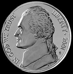 United States Coin Jefferson Nickel