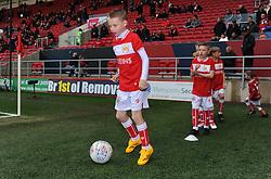 Mascot- Mandatory by-line: Nizaam Jones/JMP - 09/04/2019 - FOOTBALL - Ashton Gate Stadium - Bristol, England - Bristol City v West Bromwich Albion - Sky Bet Championship
