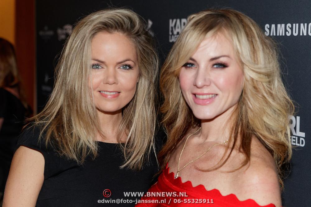 NLD/Amsterdam/20190124 - Inloop 25-jarig jubileum Talkies Magazine NL., Sita Vermeulen en Rachel Kramer
