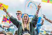 John Newman plays the Other Stage.  The 2014 Glastonbury Festival, Worthy Farm, Glastonbury. 27 June 2013.  Guy Bell, 07771 786236, guy@gbphotos.com