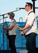 Hamptonburgh, New York - The Black Dirt Bandits perform at Orange County's 2017 Freedom Fest fireworks show at Thomas Bull Memorial Park on July 15, 2017.