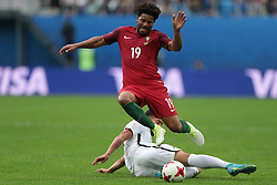 June 24, 2017 - Saint Petersburg, Russia - Eliseu of the Portugal national football team vie for the ball during the 2017 FIFA Confederations Cup match, first stage - Group A between New Zealand and Portugal at Saint Petersburg Stadium on June 24, 2017 in St. Petersburg, Russia. (Credit Image: © Igor Russak/NurPhoto via ZUMA Press)