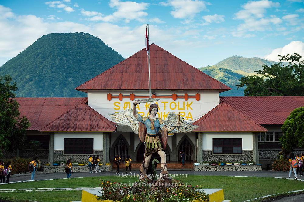 SMA Katolik Syuradikara, Kota Ende, Flores, Nusa Tenggara Timur, Indonesia