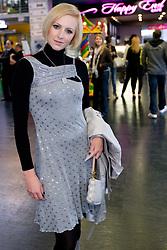 Slovenska pevka, igralka in televizijska voditeljica Anja Kriznik Tomazin na premieri filma Seks v mestu 2, 2. junija 2010, v Koloseju, BTC, Ljubljana, Slovenija. (Photo by Vid Ponikvar / Sportida)