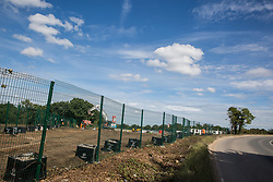 Ground clearance work for the HS2 high-speed rail link on 13th July 2020 in Harefield, United Kingdom. Thousands of trees have been felled in the Colne Valley for the £106bn project which will remain a net contributor to CO2 emissions during its projected 120-year lifetime.