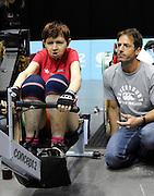 Birmingham, Great Britain, Women's LTA Open, Judy WOOLFENDEN, at the 2008 British Indoor Rowing Championships, National Indoor Arena. on  Sunday 26.10.2008 . [Photo, Peter Spurrier/Intersport-images] .