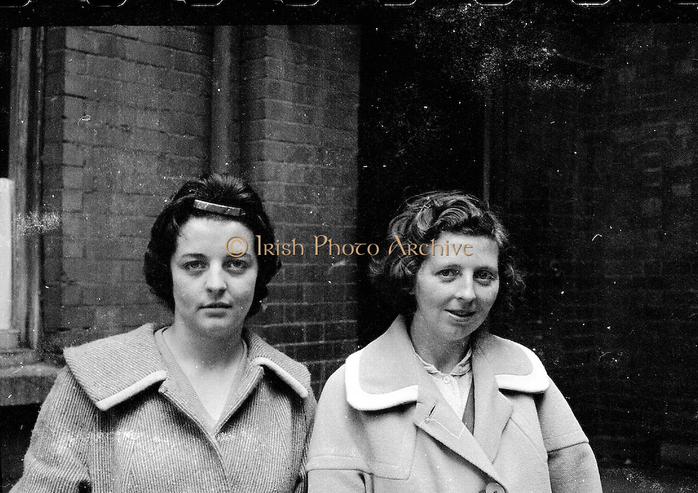 The Maguire family celebrates the arrival of their 20th baby at the Rotunda Hospital. Even for its time, this was an unusually large family, and the event made the British as well as the Irish papers. Family members..09.10.1960