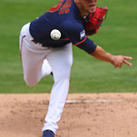 MINNEAPOLIS, MINNESOTA - MAY 15: Jose Berrios #17 of the Minnesota Twins pitches in the first inning against the Oakland Athletics at Target Field on May 15, 2021 in Minneapolis, Minnesota.(Photo by Adam Bettcher/Getty Images)*** Local Caption *** Jose Berrios