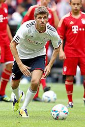 02.07.2011, Allianz Arena, Muenchen, GER, 1.FBL, FC Bayern Muenchen Saisoneroeffnung , im Bild  Thomas Mueller (Bayern #25) , EXPA Pictures © 2011, PhotoCredit: EXPA/ nph/  Straubmeier       ****** out of GER / CRO  / BEL ******