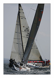 Bell Lawrie Scottish Series 2008. Fine North Easterly winds brought perfect racing conditions in this years event... GBR5440C Tiso Thunderbird of Rhu, Class 1