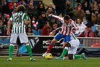03.02.2013 SPAIN -  La Liga 12/13 Matchday 22th  match played between Atletico de Madrid vs Real Betis Balompie (1-0) at Vicente Calderon stadium. The picture show  Jorge Resurreccion Koke (Spanish midfielder of At. Madrid)