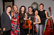 Jeffersonville, New York - The Weekend of Chamber Music held a concert at the Eddie Adams Barn on July 21, 2018. The concert featured Tawnya Popoff on viola, Carol Wincenc on flute, Alex Fiterstein on clarinet, Nurit Pacht and Mari Sato on violins and Caroline Stinson on cello.