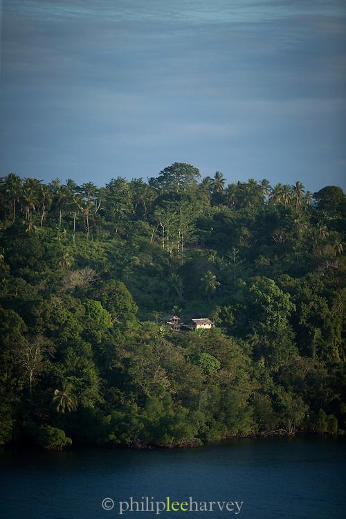View over Tufi Fjord from Tufi Lodge, Tufi, Cape Nelson, Oro Province, Papua New Guinea
