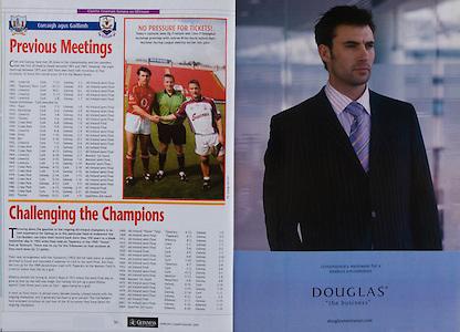 All Ireland Senior Hurling Championship - Final,.11.09.2005, 09.11.2005, 11th Septemeber 2005,.Minor Galway 3-12, Limerick 0-17,.Senior Cork 1-21, Galway 1-16,.11092005AISHCF,.Douglas menswear,