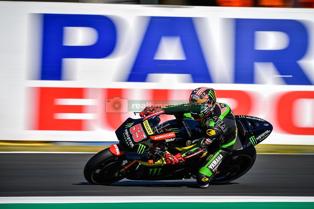 May 19, 2018 - Le Mans, Sarthe, France - 55 HAFIZH SYAHRIN (MYS) MONSTER YAMAHA TECH 3 (JPN) YAMAHA YZR M1 (Credit Image: © Panoramic via ZUMA Press)