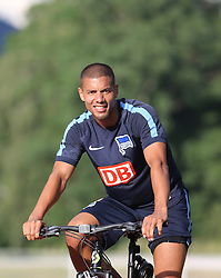 04.08.2014, Athletic Area, Schladming, AUT, Hertha BSC, im Bild Marcel Ndjeng (Hertha BSC, #8) // during a training session of the German Bundesliga Club Hertha BSC at the Athletic Area, Austria on 2014/08/04. EXPA Pictures © 2014, PhotoCredit: EXPA/ Martin Huber
