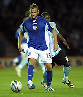 Fotball<br /> England<br /> Foto: Colorsport/Digitalsport<br /> NORWAY ONLY<br /> <br /> Richie Wellens of Leicester City<br /> Leicester City vs Peterborough United<br /> Coca Cola Championship, Walkers Stadium, Leicester, UK<br /> 15/09/2009.
