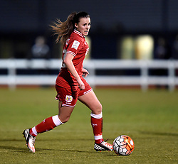 Georgia Evans of Bristol City Women - Mandatory by-line: Paul Knight/JMP - Mobile: 07966 386802 - 23/02/2016 -  FOOTBALL - Stoke Gifford Stadium - Bristol, England -  Bristol City Women v Notts County Ladies - Pre-season friendly