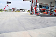 Turkey, Antalya, petrol station