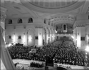 11/02/1953<br /> 02/11/1953<br /> 11 February 1953<br /> Franciscan Adam and Eve Church, Merchant's Quay, Mass for the Feast of Our Lady of Lourdes.