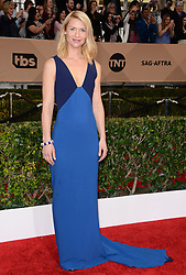 Claire Danes attends the 22nd Annual Screen Actors Guild Awards at The Shrine Auditorium on January 30, 2016 in Los Angeles, CA, USA. She wears a dress of Stella McCartney. Photo by Lionel Hahn/ABACAPRESS.COM  | 532636_095 Los Angeles Etats-Unis United States