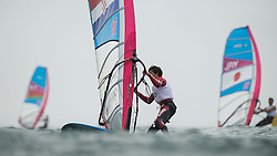 31.07.2012, Bucht von Weymouth, GBR, Olympia 2012, Windsurfen, im Bild RS:X Men, Mratovic Luka (CRO) . EXPA Pictures © 2012, PhotoCredit: EXPA/ Juerg Kaufmann ***** ATTENTION for AUT, CRO, GER, FIN, NOR, NED, POL, SLO and SWE ONLY!