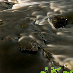 The Indian Head River as it flows though the Tucker Preserve in Pembroke, Massachusetts.