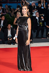 Stella Egitto walks the red carpet ahead of The Sisters Brothers screening during the 75th Venice Film Festival at Sala Grande on September 2, 2018 in Venice, Italy. Photo by Marco Piovanotto/ABACAPRESS.COM