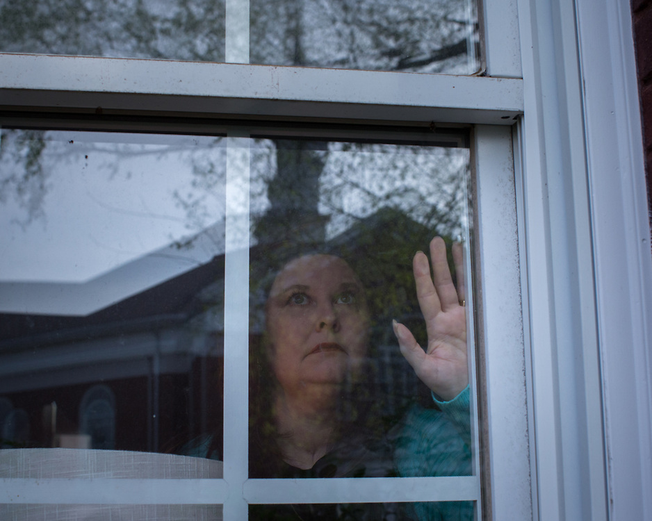 BLACKSHEAR, GA - MARCH 25, 2021: The Martins call their home across the street from their church a blessing from God. Lisa Martin has not been to a service since she tested positive for CoVid-19. (AJC Photo/Stephen B. Morton)