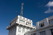Croydon airport's control tower, the birthplace of commercial aviation in 1923 after service as a WW1 airfield. From here the world's first airliners (like the Imperial Airways Handley Pages) stopped, Charles Lindberg arrived to greet the king after his transatlantic solo flight and where Amy Johnson flew solo from as the first woman, to Australia.