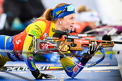 March 16, 2019 - –Stersund, Sweden - 190316 Mona Brorsson of Sweden competes in the Women's 4x6 km Relay during the IBU World Championships Biathlon on March 16, 2019 in Östersund..Photo: Petter Arvidson / BILDBYRÃ…N / kod PA / 92268 (Credit Image: © Petter Arvidson/Bildbyran via ZUMA Press)