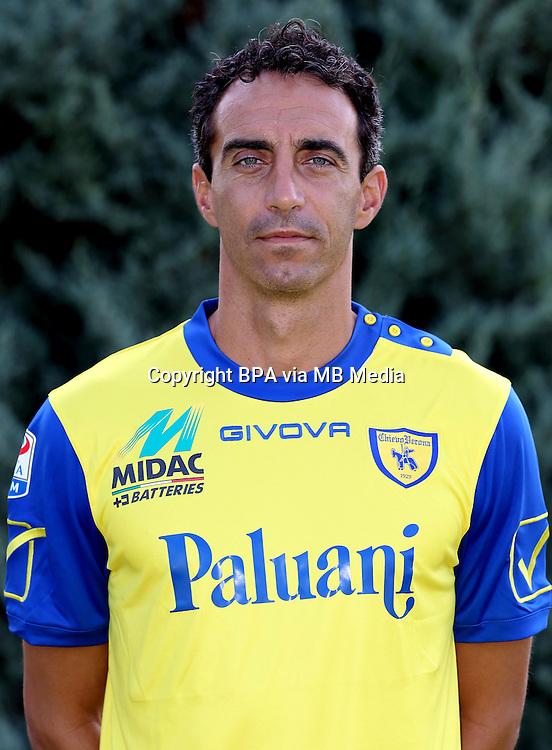 Italian League Serie A -2016-2017 / <br /> ( AC Chievo Verona  ) - <br /> Dario Dainelli