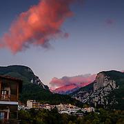 c.Litohoro, Dion and Mt. Olympus
