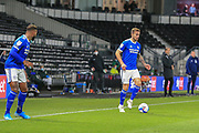 Cardiff City midfielder Joe Ralls (8) during the EFL Sky Bet Championship match between Derby County and Cardiff City at the Pride Park, Derby, England on 28 October 2020.