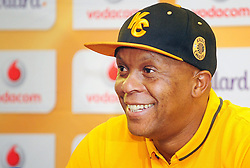 Cape Town - 151217 - Pictured is Kaizer Chiefs assistant coach, Doctor Khumalo. The Kaizer Chiefs held a press conference at the Cape Town Stadium ahead of their match against the Bidvest Wits on the 19th of December 2015. Reporter: Yolisa Tswanya Picture: David Ritchie
