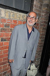 ALAN YENTOB at a party to celebrate the publication of Joseph Anton by Sir Salman Rushdie held at The Collection, 264 Brompton Road, London SW3 on 14th September 2012.